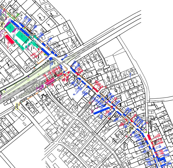 Standplan zum Hainburger Markt 2015 - Übersichtsplan DIN A0