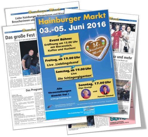 Marktzeitung Hainburger Markt 2016