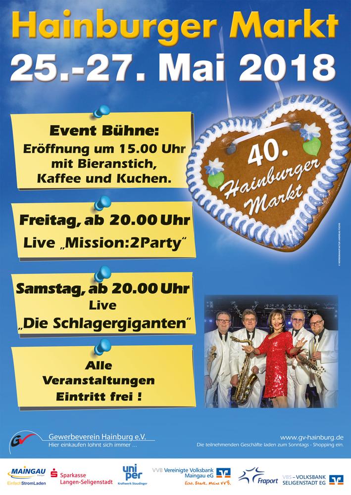 Plakat 40. Hainburger Markt