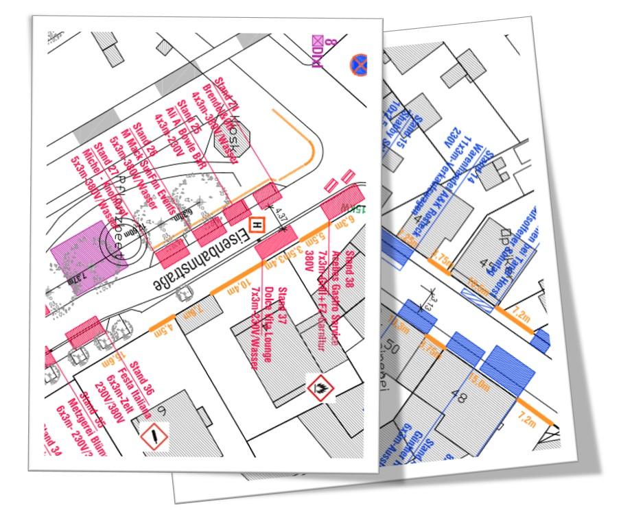 Standplan Hainburger Markt