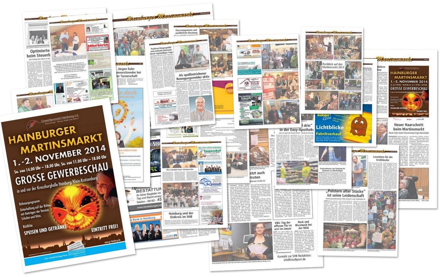 Martinsmarktzeitung 2014