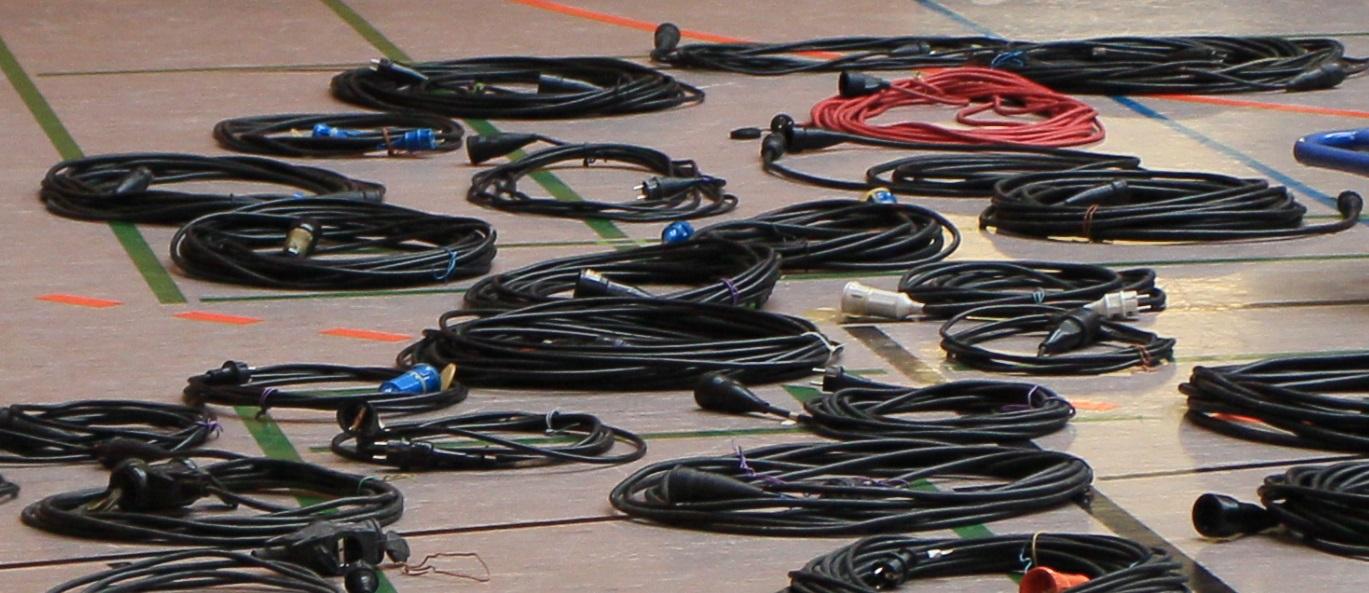 Aufbau #02: Kabel | Foto: Tobias Kemmerer
